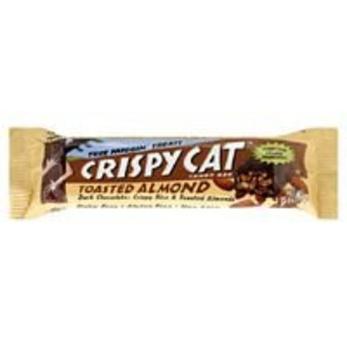 Crispy Cat Toasted Almond Candy Bar, 1.75-Ounce Bags (Pack of 12)