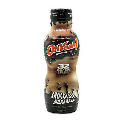 Oh Yeah! Nutritional Chocolate Milkshakes
