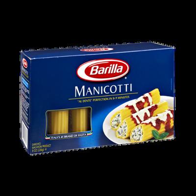 Barilla Pasta Manicotti