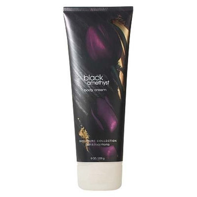 Bath & Body Works Black Amethyst Signature Collection Body Cream 8 oz (226 g)