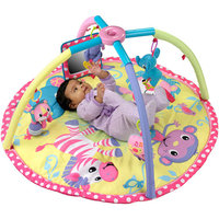 Infantino - Baby Girl Animals Twist & Fold Activity Gym & Playmat