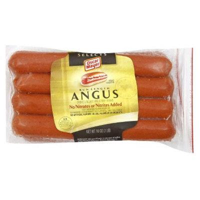 Oscar Mayer Bun Lengths Angus Beef Franks 16 oz