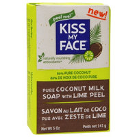 Kiss My Face Pure Coconut Milk Soap with Lime, 5 oz
