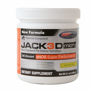 USPlabs Jack3d Micro Pre-Workout Technology