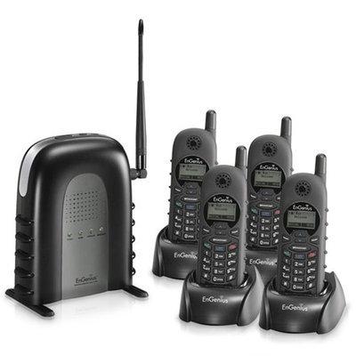 Engenius DuraFon 1X (4 Handsets) Long Range Cordless Phone (DuraFon1X)