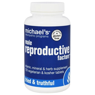 Michaels Naturopathic Programs Michael's Naturopathic Programs - Male Reproductive Factors - 120 Vegetarian Tablets