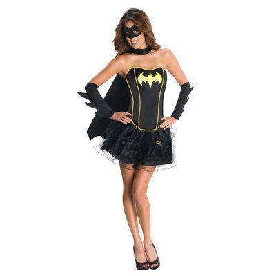 Rubies DC Comics Secret Wishes Batgirl Corset Adult Halloween Costume