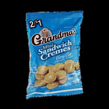 Grandma's Mini Vanilla Sandwich Cremes Cookies