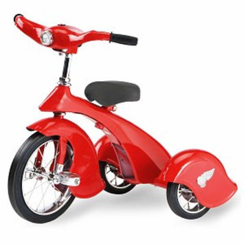 Morgan Cycle Bird Trike, Red, 1 ea