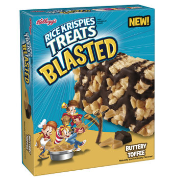 Kellogg's® Rice Krispies Treats Blasted Buttery Toffee