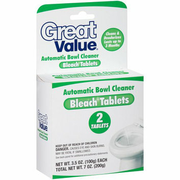 Equate Great Value Automatic Toilet Bowl Cleaner Bleach Tablets
