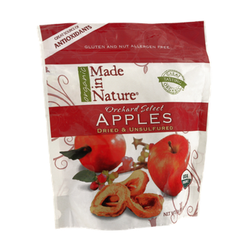 Organic Made in Nature Dried & Unsulfured Orchard Select Apples