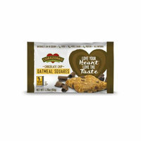 Corazonas Oatmeal Squares Chocolate Chip Case of 12 1.76 oz
