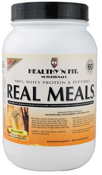 Healthy'N Fit Nutritionals Real Meals Vanilla Shake 2.09 lbs