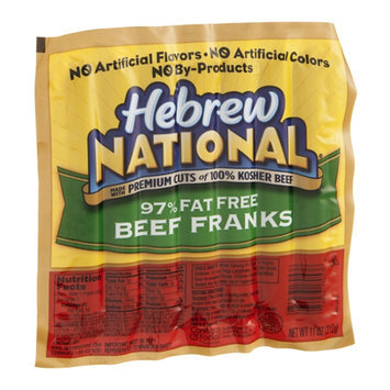 Hebrew National Beef Franks 97% Fat Free