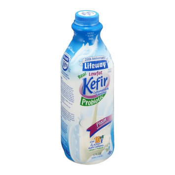 Lifeway Kefir Cultured Milk Smoothie Lowfat Probiotic Plain Unsweetened