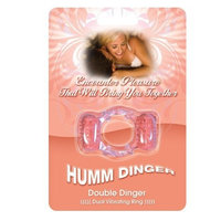 Hott Products Humm Dinger Double Dinger, Magenta