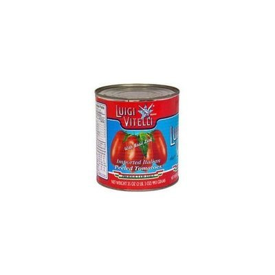 Luigi Vitelli Italian Peeled Tomatoes (Case of 12)