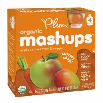 Plum Kids Organic Mashups Fruit & Veggie Smoothie