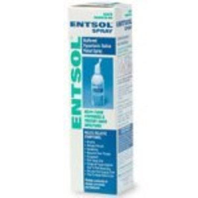 Entsol Spray, Buffered Hypertonic Saline Nasal Spray, 100 ml