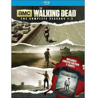 The Walking Dead: Seasons 1-3 (Blu-ray + T-Shirt) (Widescreen)
