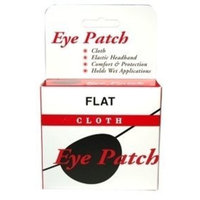 Special pack of 6 JOHN G. KYLE INC. EYE PATCH LARGE FLAT BLACK X 6