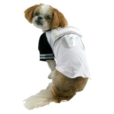 Boots & Barkley Boots and Barkley Linebarker Jersey Pet Costume - Large