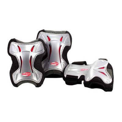Roller Derby Black BONEShieldz PRO DELUXE TRI PACK - S/M