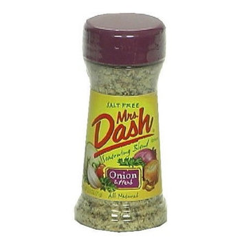 Mrs. Dash Onion and Herb Seasoning Blend, Salt-Free, 2.5-Ounce Shakers (Pack of 6)