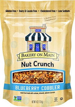 Bakery On Main NUT CRUNCH, BLUBRY COBBLER, (Pack of 6)