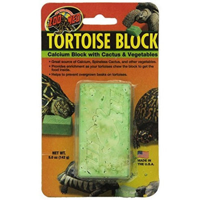ZOO MED/AQUATROL, INC Zoo Med Laboratories SZMBB55 Tortoise Banquet Block, Net WT 5 oz
