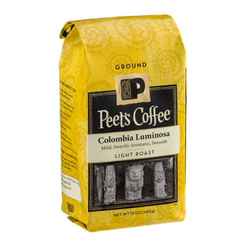 Peet's Coffee Colombia Luminosa Light Roast Ground Coffee