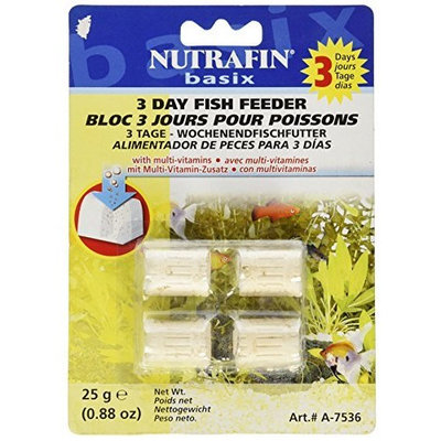 Hagen Nutrafin 3 Day Treasure Chest Holiday Fish Feeder, 4-Pack