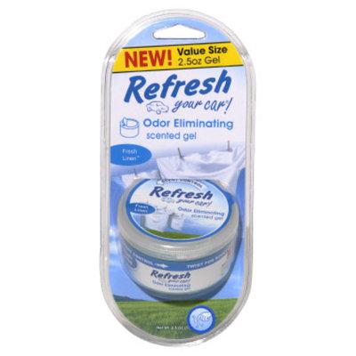 Refresh Your Car Fresh Linen Scented Gel - 2.5 oz