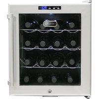 Whynter LLC 16 Bottles Wine Cooler Platinum with lock