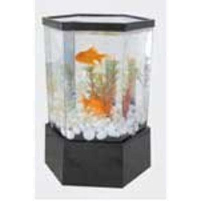 Tom KollerCraft Mini Hex Aquarium Kit, 1-Gallon