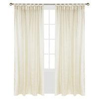 Outdoor Decor Escape Hook & Loop Indoor/Outdoor Window Panel - Ivory