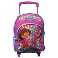 Disney Nickelodeon Girls Pink Dora The Explorer Butterfly Friends Backpack (Pink)
