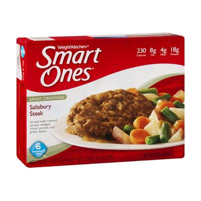 Weight Watchers Smart Ones Smart Creations Salisbury Steak