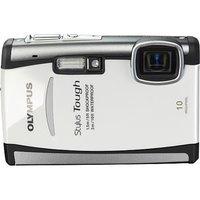 Olympus Stylus Tough 6000 White 10 MP Digital Camera, 3.6x Optical Zoom 2.7