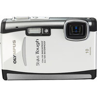 Olympus Stylus Tough 6000 White 10 MP Digital Camera, 3.6x Optical Zoom 2.7