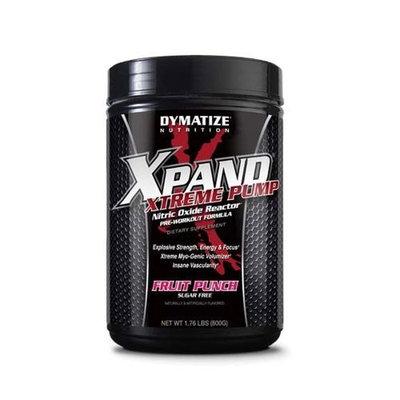 Dymatize Nutrition Xpand Xtreme Pump, Caffeine-Free, Fruit Punch, 800-Grams