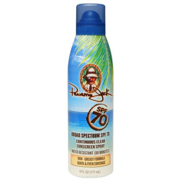 Panama Jack Continuous Clear Sunscreen Spray