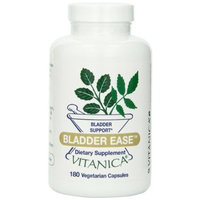 Vitanica Bladder Ease, Bladder Mucosa Support, 180 Vegetarian Capsules