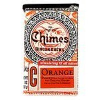 Chimes All Natural Orange Ginger Chews - 2 oz Tin