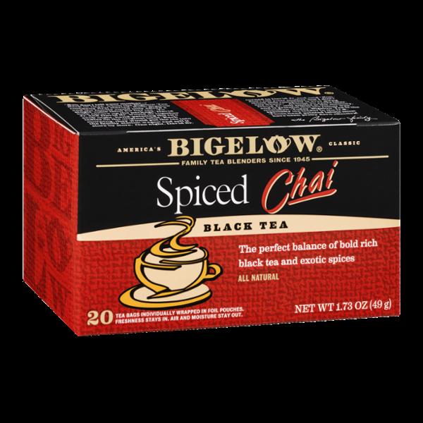 Bigelow Black Tea Spiced Chai - 20 CT