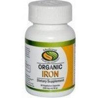 MEDICINAL NUTRACEUTICS Organic Iron 60 VEGI-CAPS