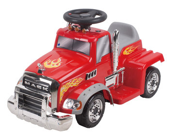 New Star Toys & Gifts, Inc 6V Ride On Mack Truck Color: Red