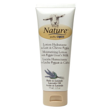 Nature by Canus Moisturizing Lotion with Fresh Goat's Milk, Lavender Oil, 2.5 oz