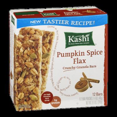 Kashi Pumpkin Spice Flax Crunchy Granola Bars - 12 CT